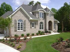 Brick And Shutters Design Ideas, Pictures, Remodel, and Decor - page 8