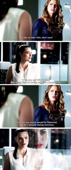 331 Best SuperCorp images in 2019 | Lena luthor, Melissa