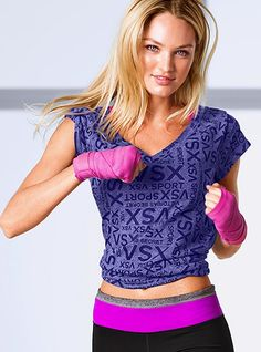 Training Tee - Victoria's Secret Sport - Victoria's Secret