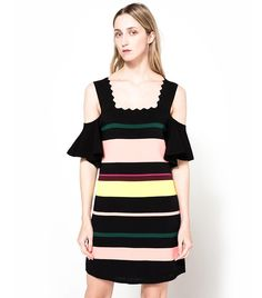 Summer Trend Forecasting: Expect to See These 10 Pieces Everywhere via Summer Fashion Trends, Summer Trends, Black Dresses Online, Dress Online, Contemporary Dresses, Striped Dress, Amazing Women, Nice Dresses, Cool Style