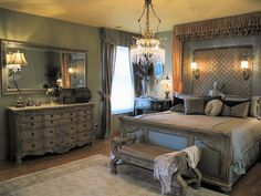 Luxe bedroom pinned with Pinvolve