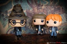 Potter frency party - Figurines Harry Potter Funko Pop! chez Fandegoodies - Sorting hat, Quidditch Malfoy -