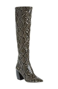 Free shipping and returns on Jeffrey Campbell 'Dresden' Over the Knee Boot…