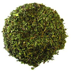 Organic Peppermint – Full Leaf Tea Company    Certified Organic. 100% organic peppermint. Steeped on its own for a rich mint flavor, or mixed with your favorite tea, this herb is a wonderful flavor!  Naturally decaffeinated  #peppermint