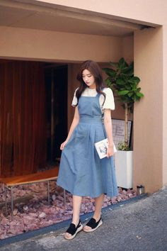 Summer Dress Outfits, Summer Fashion Outfits, Casual Summer Dresses, Trendy Dresses, Modest Outfits, Modest Fashion, Trendy Fashion, Nice Dresses, Girl Fashion