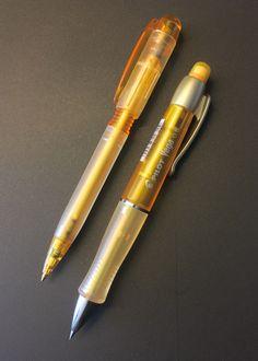 Platinum Brush Pen Black Marble and Gold