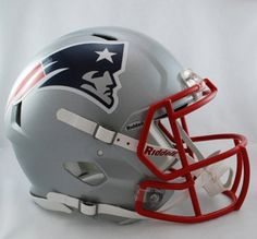 NFL New England Patriots Revolution Speed Mini Helmet by Riddell. $24.95. The latest craze for headware on the NFL field is the new Riddell Revolution Speed helmet. These are the mini version of these popular helmets and are great to collect, for decorating your man cave or for autograph signings