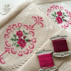 Cross Stitch Embroidery, Elsa, Origami, Diy And Crafts, Bed Sheets, Embroidered Towels, Made By Hands, Hand Crafts, Joy