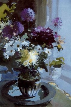 Flowers in a Glass Vase, Light & Dark Still Life in Pink and Silver Still Life White roses in an interior +15 Tulips Still life with Lavatera and Copper (2011) Daisies & Clematis Mixed Flowers in a White Jug Flowers with a painting Still life with Flowers on table Flowers in three vases The Sweet…