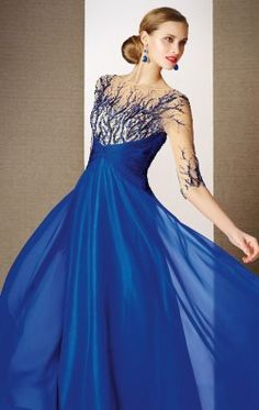Embellished Gown by Alyce Black Label 5628