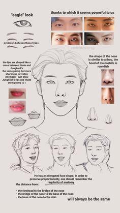 Drawing Body Poses, Drawing Tips, Drawing Reference, Drawing Base, Boy Sketch, Face Study, Bts Memes Hilarious, Korean Art, Korean Food