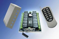 12Ch RF Wireless Remote Control Tx/Rx Kit by Lightobject. $28.50. 12 Channel Remote Controller (433MHz)