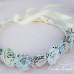 Rose Head Wreath {Silhouette}