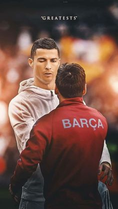 [Ronaldo x Messi] Shoot Into The Heart Messi Neymar, Messi Vs Ronaldo, Messi Soccer, Messi 10, Cristiano Ronaldo 7, Messi Argentina, World Best Football Player, Soccer Players, Football Love