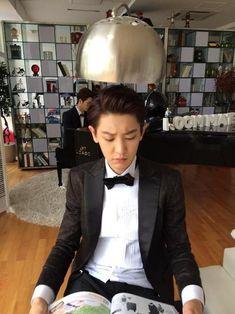 Chanyeol ❤ Oppa 💙👀 Exo ✌ Exo_k Seo Kang Joon, Lee Dong Wook, Park Chanyeol Exo, Kyungsoo, Exo Exo, Exo Korean, Bts And Exo, Exo Members, Chanbaek