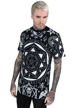 occult t shirt b