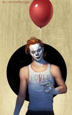 Pennywise mixed with bill skarsgård 💞 Le Clown, Creepy Clown, Horror Icons, Horror Art, Horror Decor, Horror Movie Characters, Horror Movies, Bill Skarsgard Pennywise, Pennywise The Dancing Clown