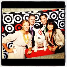 It's every #Target team members secret dream- meeting the one and only Bullseye!...SO TRUE!