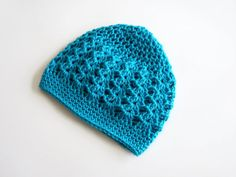 Crochet Beanie Hat for Toddlers Mint Blue Turquiose by MyHobbyShop, $17.00 #etsy #teaminspired