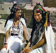 Africa | Girls from the High Atlas region, Morocco. Post stamped 1974 || Scanned postcard; publisher IRIS / Sochepress