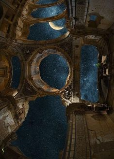 architecture old art Moon magic architecture ancient writing inspiration prompt art photography lunar Hintergrund Art Et Architecture, Beautiful Architecture, Ancient Architecture, Ancient Buildings, Dark Fantasy, Fantasy Art, Writing Inspiration Prompts, Stars At Night, Night Skies