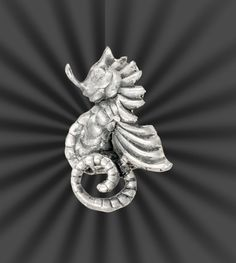Mexico sterling sea horse brooch by SearchEndsHere on Etsy
