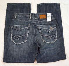 Korra Slim Straight Leg Selvedge Mens Organic Jeans Size 38 X 34 ...