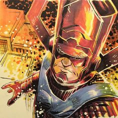 Galactus by Mike Henderson