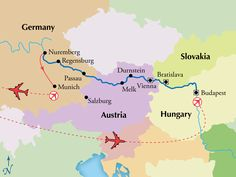 9 Day Danube River Cruise - Budapest to Nuremberg (Sound of Music) - www.gate1travel.com