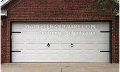 Agave Ironworks Wrought Iron Garage Door Hardware Kits Garage Door Decor Garage Door Decorative Hardware Garage Doors