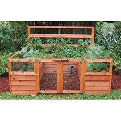 Raised bed gardening system