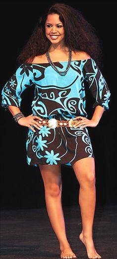Wahine Toa- Lihau dress Can.you.say.BEAUTIFUL!