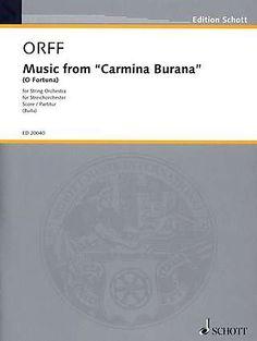 O Fortuna (aus Carmina Burana) von Carl Orff Carl Orff, Chor, Singers, Classic, Musica, Double Bass, Orchestra, Music School, Derby