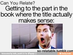 Yes!!! And then there's those awkward books that just don't ever get to that part...