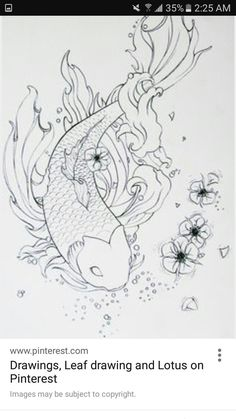 I'd like this on my thigh with black and white and blue ink for water
