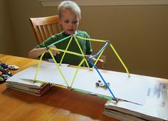 Science and technology activity for kids :: Engineering a Bridge
