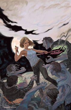 Buffy season 10 issue 1 by StevenJamesMorris on deviantART