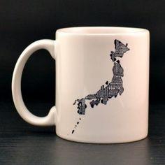 Japan Mug - MapMyState.com