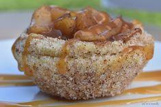 Mini Tartlets, Mini Tart Pans, Fried Chicken And Waffles, Cooked Apples, Apple Filling, Fruit Tart, Waffle Recipes, Summer Fruit, Churros