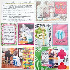 Project Life 2013 - Week 11 - Left - Scrapbook.com