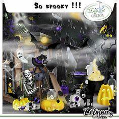 Scraps by Jessica art-design: So spooky by celinoa's design