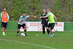 El Betis entrena en Barranco Seco