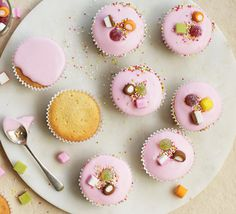 Perfect for a bake sale, kids party or sweet afternoon snack, these iced cupcakes are the simplest sponges around and can be decorated as you like