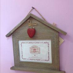 Porta Foto A Casetta  Angelica Home&Country