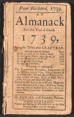 Poor Richards Almanac quotes from Benjamin Franklin. Poor Richards Almanac quotes from Benjamin Franklin. Nancy Reagan, Ronald Reagan, Benjamin Franklin, American Literature, American History, Poor Richard's Almanack, Richard Saunders, The 39 Clues, Best Selling Books