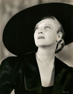 Ann Harding (August 7, 1902 – September 1, 1981) American theatre, motion picture, radio, and television actress.