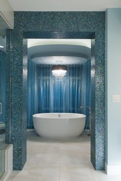 eclectic bathroom by Fenwick & Company Interior Design....different.