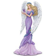 Amazon.com - Thomas Kinkade Alzheimer's Support Angel Figurine: Caring - Collectible Figurines