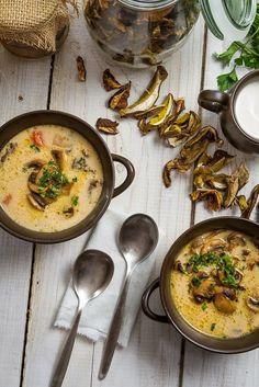 Pecan Mushroom Soup