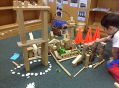 """play based inquiry: Encouraging imaginative play using construction & small world resources ("""",)"""